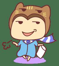 """Cat O' Cap """"Nya-tan"""" sticker #770703"""