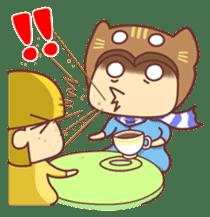 """Cat O' Cap """"Nya-tan"""" sticker #770705"""