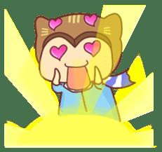 """Cat O' Cap """"Nya-tan"""" sticker #770706"""