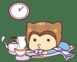 """Cat O' Cap """"Nya-tan"""" sticker #770708"""