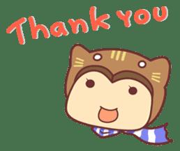 """Cat O' Cap """"Nya-tan"""" sticker #770710"""
