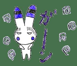 A rabbit is a full sticker #774875