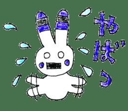 A rabbit is a full sticker #774883