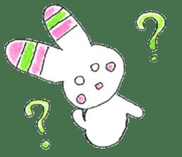A rabbit is a full sticker #774887