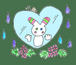 A rabbit is a full sticker #774900