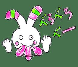 A rabbit is a full sticker #774906