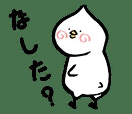 Bird of hokkaido sticker #775088