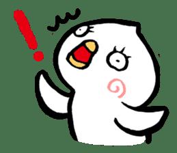 Bird of hokkaido sticker #775101