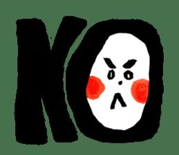 Tanaka Taisan Emoji Japanese Style sticker #779078