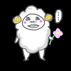 lamb's sticker
