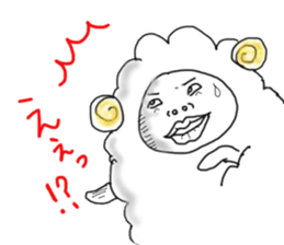 lamb's sticker sticker #779236