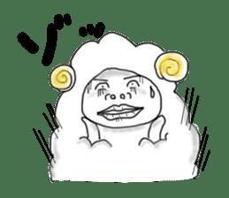 lamb's sticker sticker #779245