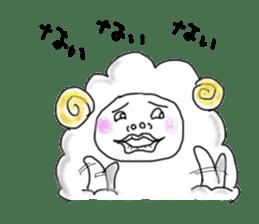 lamb's sticker sticker #779250