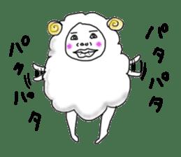 lamb's sticker sticker #779251