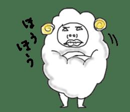 lamb's sticker sticker #779254