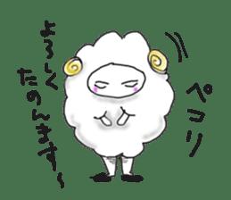 lamb's sticker sticker #779258
