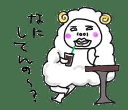 lamb's sticker sticker #779260