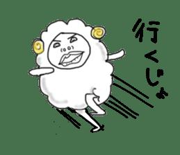 lamb's sticker sticker #779263