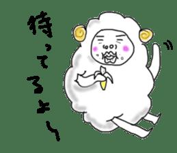 lamb's sticker sticker #779266