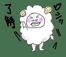 lamb's sticker sticker #779270
