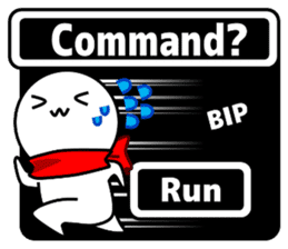 Enemy Attack!(English) sticker #780076