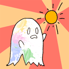 Bumbling Ghost sticker #780231