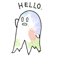 Bumbling Ghost sticker #780232