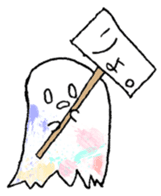 Bumbling Ghost sticker #780243