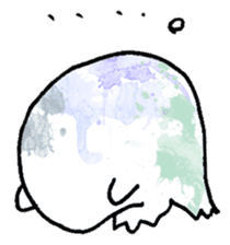 Bumbling Ghost sticker #780249