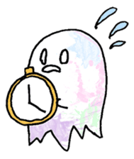 Bumbling Ghost sticker #780255