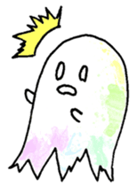 Bumbling Ghost sticker #780259