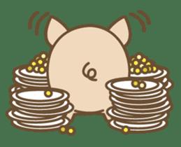 Pig farm sticker #780353