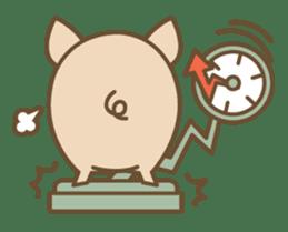 Pig farm sticker #780354