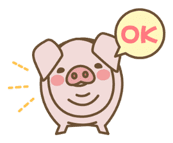 Pig farm sticker #780357
