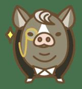 Pig farm sticker #780359