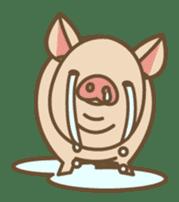 Pig farm sticker #780360