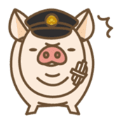 Pig farm sticker #780361