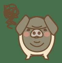 Pig farm sticker #780362