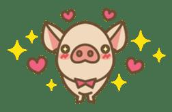 Pig farm sticker #780365