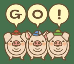 Pig farm sticker #780366