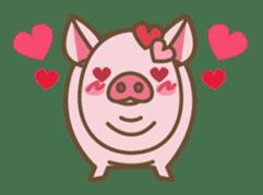 Pig farm sticker #780367