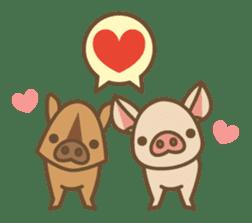 Pig farm sticker #780374