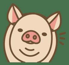 Pig farm sticker #780376