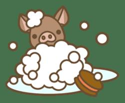 Pig farm sticker #780379