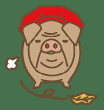Pig farm sticker #780382