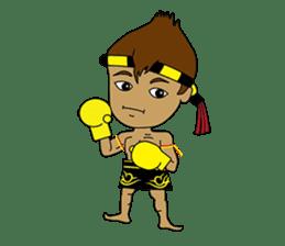 Muay Thai Fighter sticker #781431