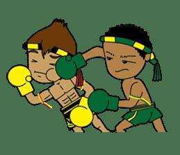 Muay Thai Fighter sticker #781433