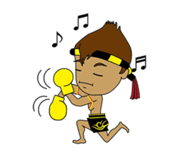 Muay Thai Fighter sticker #781445