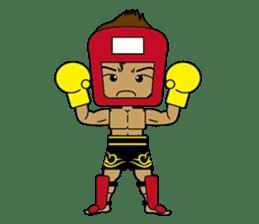Muay Thai Fighter sticker #781448