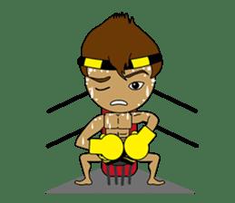 Muay Thai Fighter sticker #781454